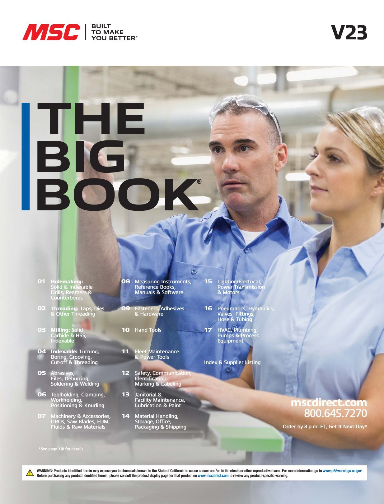 MSC Big Book 2018-2019